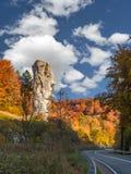 Maczuga Herkulesa, Польша стоковое изображение rf
