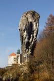 Maczuga Herkulesa em Pieskowej Skale poland Imagem de Stock Royalty Free
