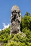 Maczuga Herkulesa en el parque nacional de Ojcow, Polonia Fotos de archivo