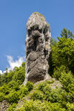 Maczuga Herkulesa no parque nacional de Ojcow, Polônia Fotos de Stock