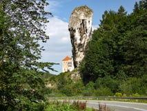 Pieskowa Skala Castle in Lesser Poland. Royalty Free Stock Photo