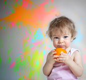 Mad baby Stock Images