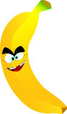 Mad banana Royalty Free Stock Photos