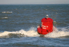Mad about the Buoy Stock Photo