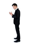 Mad business man Royalty Free Stock Photo