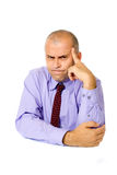 Mad business manager Stock Images