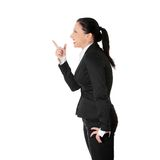 Mad business woman Royalty Free Stock Images