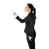 Mad business woman Stock Photo