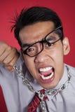 Mad businessman Stock Photo