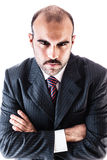 Mad businessman Stock Photography