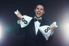 Mad businessman Royalty Free Stock Images