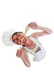 Mad chef Royalty Free Stock Photos