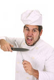 Mad chef Stock Photography