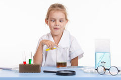 The Mad Chemist Royalty Free Stock Image