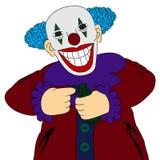 Mad clown Royalty Free Stock Photos