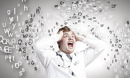 Mad doctor Stock Photos