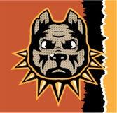 Mad Dog pop art vector Stock Photography