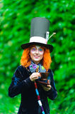 Mad Hatter. From a fairy tale Alice in Wonderland Royalty Free Stock Photo