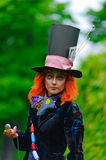 Mad Hatter. From a fairy tale Alice in Wonderland Stock Image