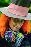 Mad Hatter. From a fairy tale Alice in Wonderland Stock Photos