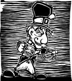 Mad Hatter. From from Lewis Carroll's Alice in Wonderland vector illustration