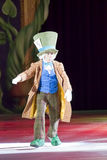 Mad Hatter. GREEN BAY, WI - MARCH 10:  Mad Hatter from Alice in Wonderland on skates at the Disney on Ice Treasure Trove show at the Resch Center on March 10 Royalty Free Stock Image
