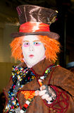 The Mad Hatter cosplay at the London Film & Comic Con 2017 royalty free stock photo