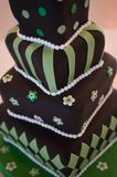 Mad hatter wedding cake Royalty Free Stock Image
