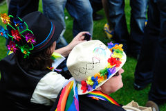 Mad Hatters at Dublin LGBTQ Pride Festival 2010 Stock Images