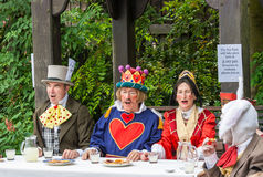 The Mad Hatters Tea Party Royalty Free Stock Image