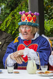 The mad hatters tea party royalty free stock photography