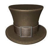 Mad Hatters Top Hat Front Royalty Free Stock Photos