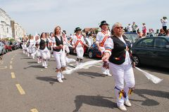 Mad Jack's Morris dancers, Hastings Stock Photography