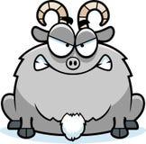 Mad Little Goat royalty free illustration