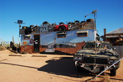 Mad Max Museum, Silverton, Australia Royalty Free Stock Photography