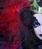 Mad queen. Stock Photography