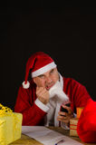 Mad Santa Royalty Free Stock Photos