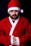 Mad santa Stock Image