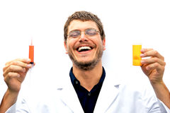 Mad Scientist Royalty Free Stock Images