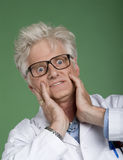 Mad Scientist Stock Images
