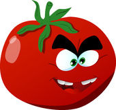 Mad tomato Royalty Free Stock Images
