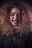 Mad woman looking scaryhttp://web.dreamstime.com/oms_bulk.php?pg=6#row14 Royalty Free Stock Images