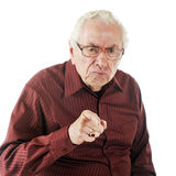 Mad at You! Stock Photography