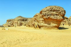 Mada`in Saleh Stock Photos