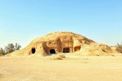 Mada`in Saleh Stock Image