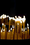 Madaba - Jordan. Candles in the church, Madaba, Jordan Royalty Free Stock Image