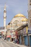 MADABA, JORDAN - APRIL 25, 2016: Mosque in the centre of Madaba Royalty Free Stock Photos