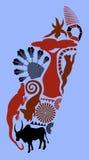 Madagascar vector illustratie