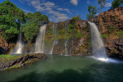 Madagascar. Waterfall Chute de la Lily, Lac Itasy area, Ampefy, Madagascar Stock Photo