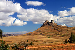 madagascar berg Royaltyfri Foto